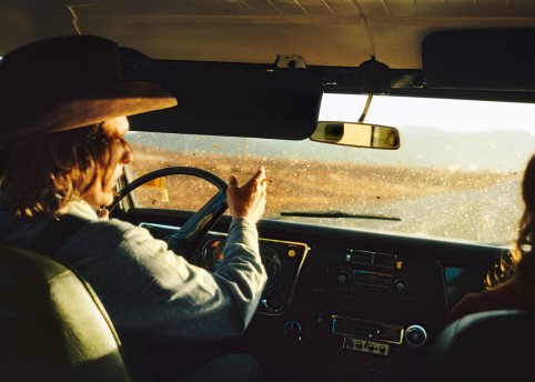 Dennis Hopper, photographed by William Eggleston. Photograph- William Eggleston:Eggleston Artistic Trust
