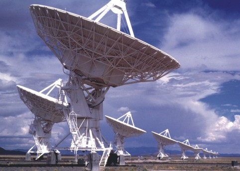 The Allen Telescope Array (ATA). Courtesy SETI