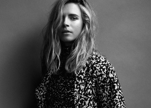 Brit Marling from HEROINE 1. Photography by Tetsu Kubota, fashion by Daniel Edley