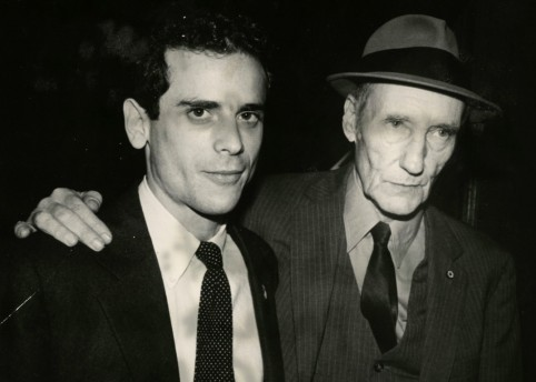 Howard Brookner with William Burroughs © Paula Court