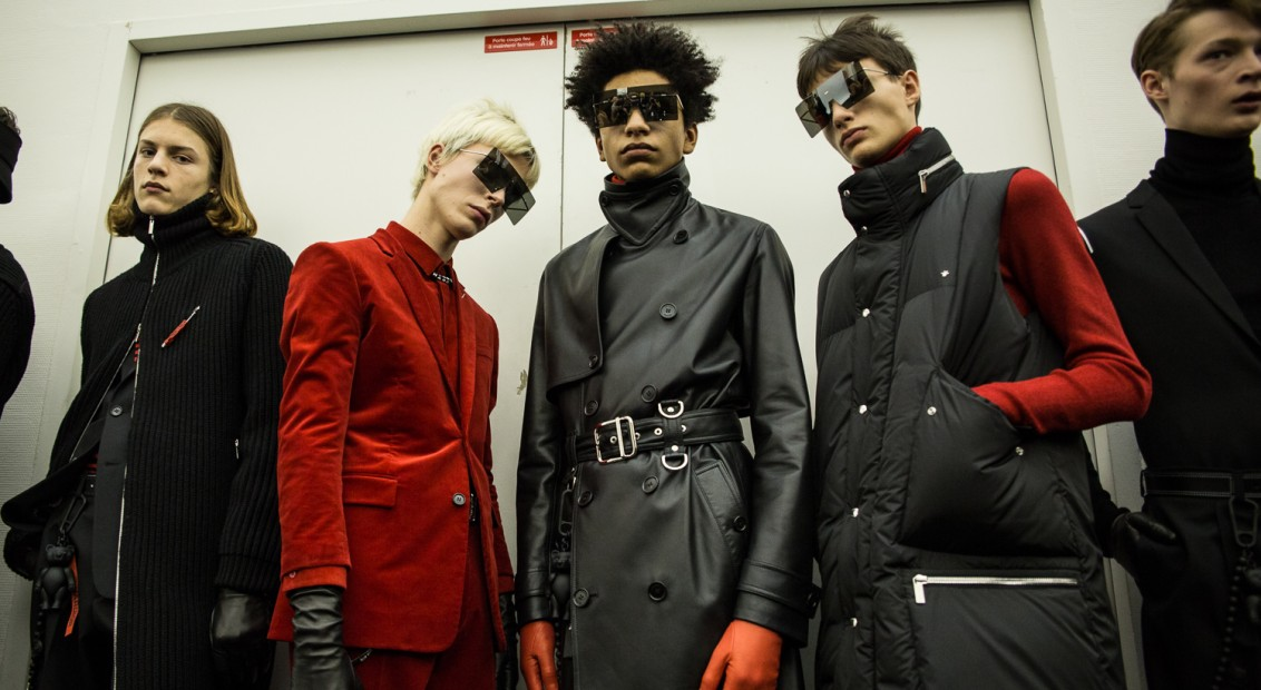 Dior Homme AW17 | Portia Hunt for HERO
