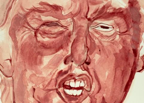 Sarah Levy 'Donald Trump' 2015. Courtesy the artist