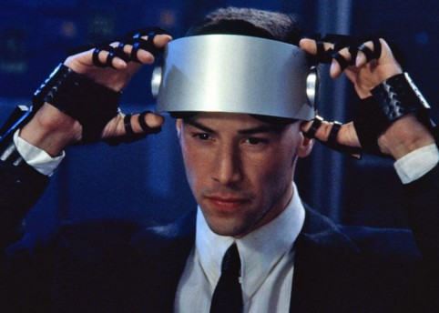 Still, 'Johnny Mnemonic' (1995) dir. Robert Longo