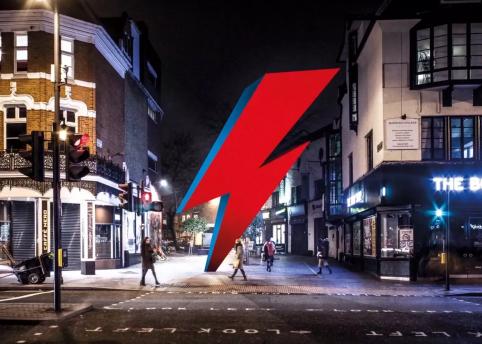 Bowie Brixton memorial