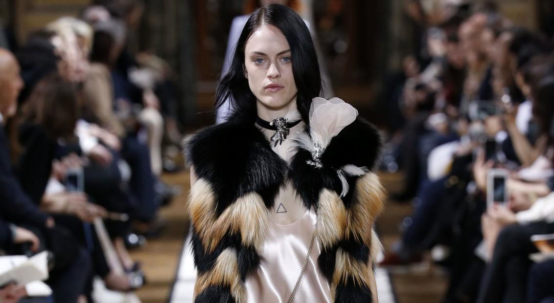 LANVIN ready to wear   fall winter 2017-18   Paris mars 2017