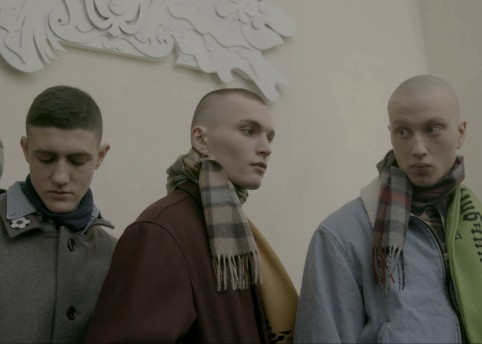 Still from 'APART' by Gosha Rubchinskiy and INRUSSIA. Courtesy Papaya Dog and M.Tomash