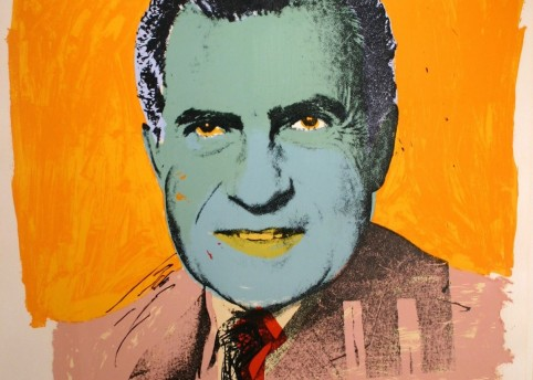 Andy Warhol 'Vote McGovern', 1972. New York, Museum of Modern Art (MoMA)