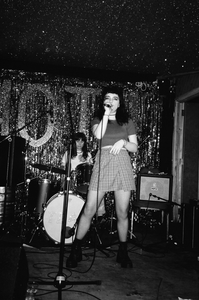 The Peach Club live at Moth Club. Photography by Sadie Bailey