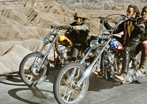 Publicity still from the film Easy Rider (1969) Sunset Boulevard / Corbis / Getty Images
