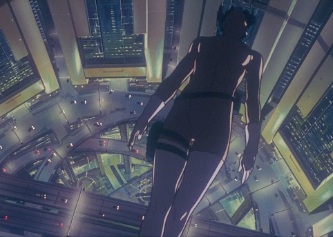Still from 'Ghost in the Shell' dir. Mamoru Oshii 1995 © Shirow Masamune / KODANSHA · BANDAI VISUAL · MANGA ENTERTAINMENT Ltd.