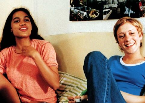 Rosario Dawson and Chloe Sevigny in Larry Clark's 'Kids' 1995