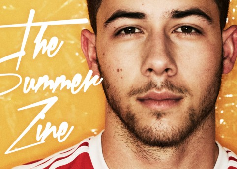 Nick Jonas on the cover of the launch issue of The HERO Summer Zine
