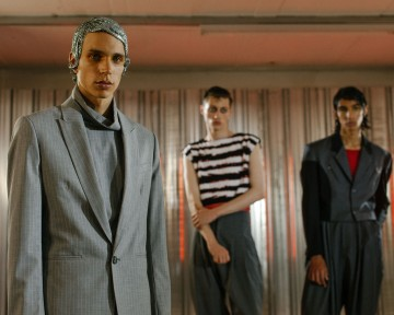 Backstage at Topman Design SS18. Photography Tomas Turpie.