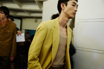 Backstage at Dries Van Noten SS18. Photography Raffaele Cariou.