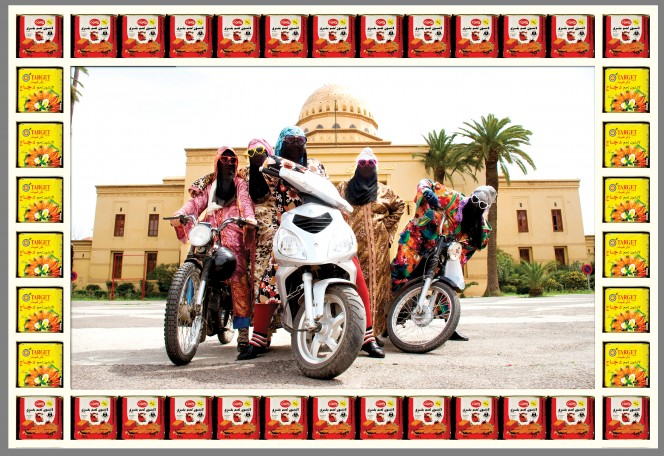 Kesh Angels, photograph by Hassan Hajjaj