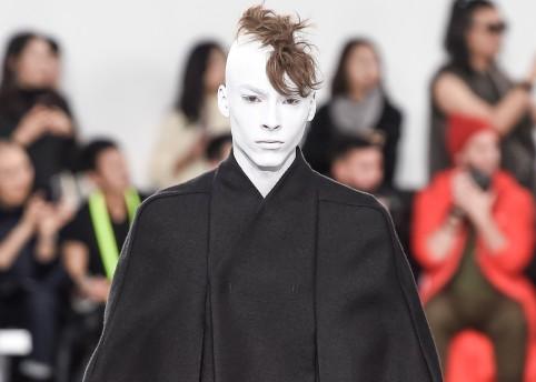 Rick Owens Menswear Fall Winter 2018 Collection Paris Fashion Week