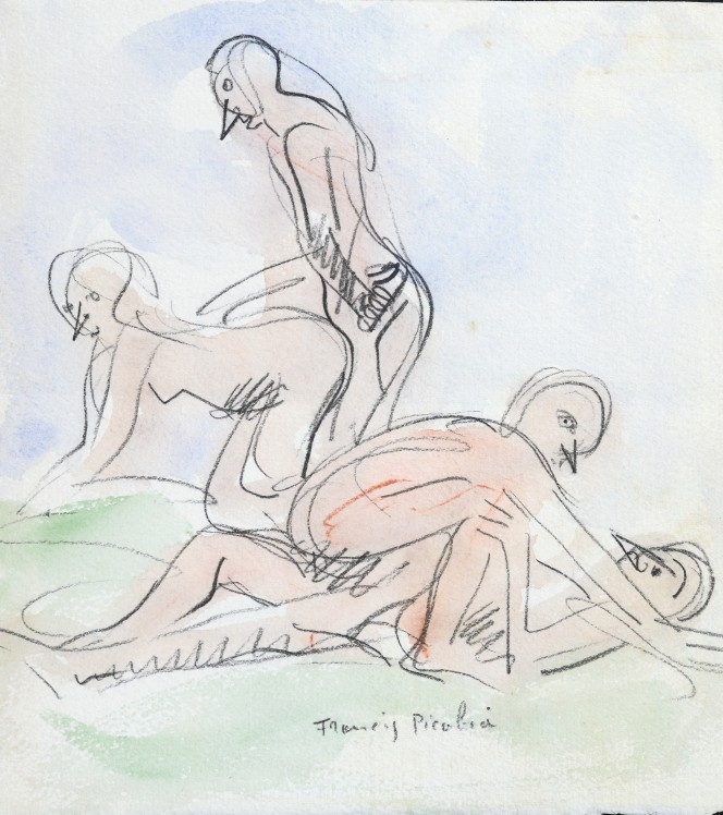 Francis Picabia, no title, courtesy Plus-One Gallery, Antwerp