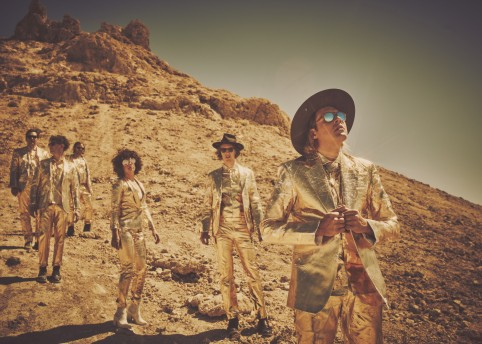 Arcade Fire / photography by Guy Aroch