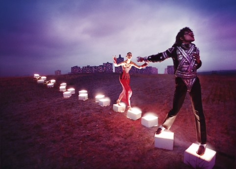 'An Illuminating Path', photograph by David LaChapelle