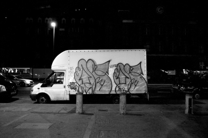 The Graffiti Trucks of London 1