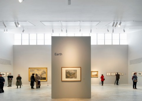 Turner Contemporary -Turner & The Elements. Photo. Hufton & Crow
