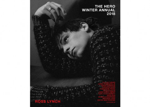 Ross Lynch cover of The HERO Winter Annual 2018