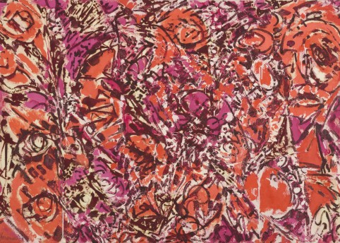 12. Lee Krasner, Icarus, 1964, Thomson Family Collection © The Pollock-Krasner Foundation. Courtesy Kasmin Gallery, Photo by Diego Flores.
