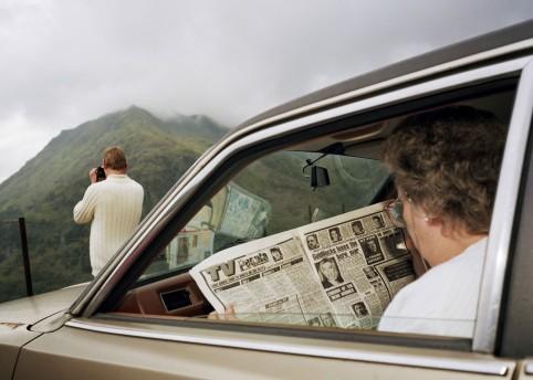 Snowdonia, Wales, 1989 © Martin Parr / Magnum Photos / Rocket Gallery