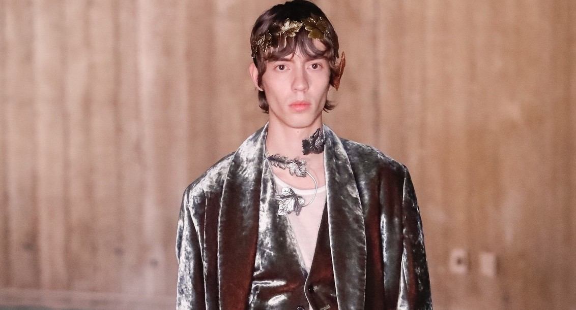 Ann Demeulemeester Fashion show in Paris Menswear Collection Fall Winter 2020