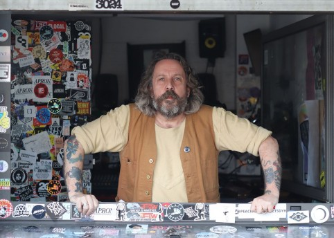 Andrew Weatherall - image from NTS