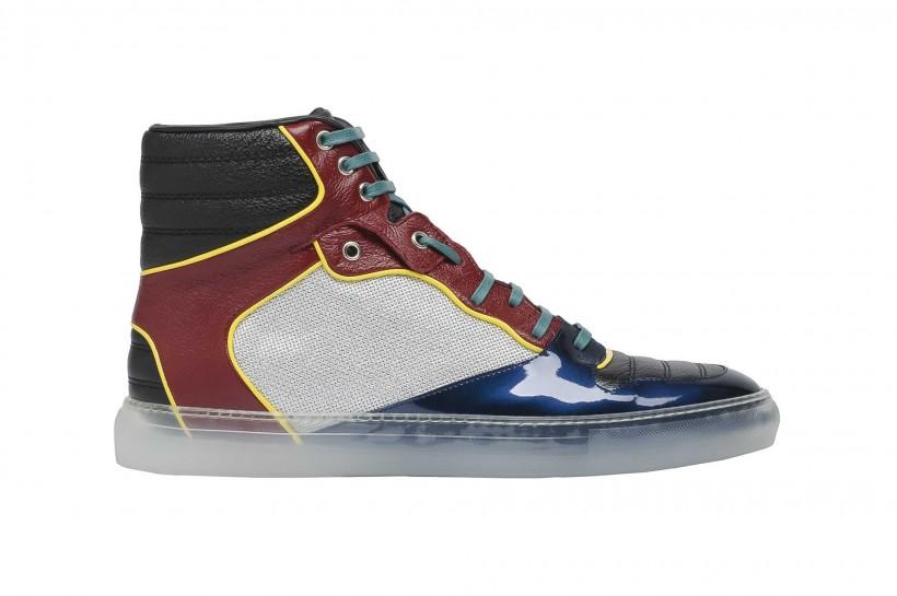 Balenciaga High Sneakers: £345 | HERO