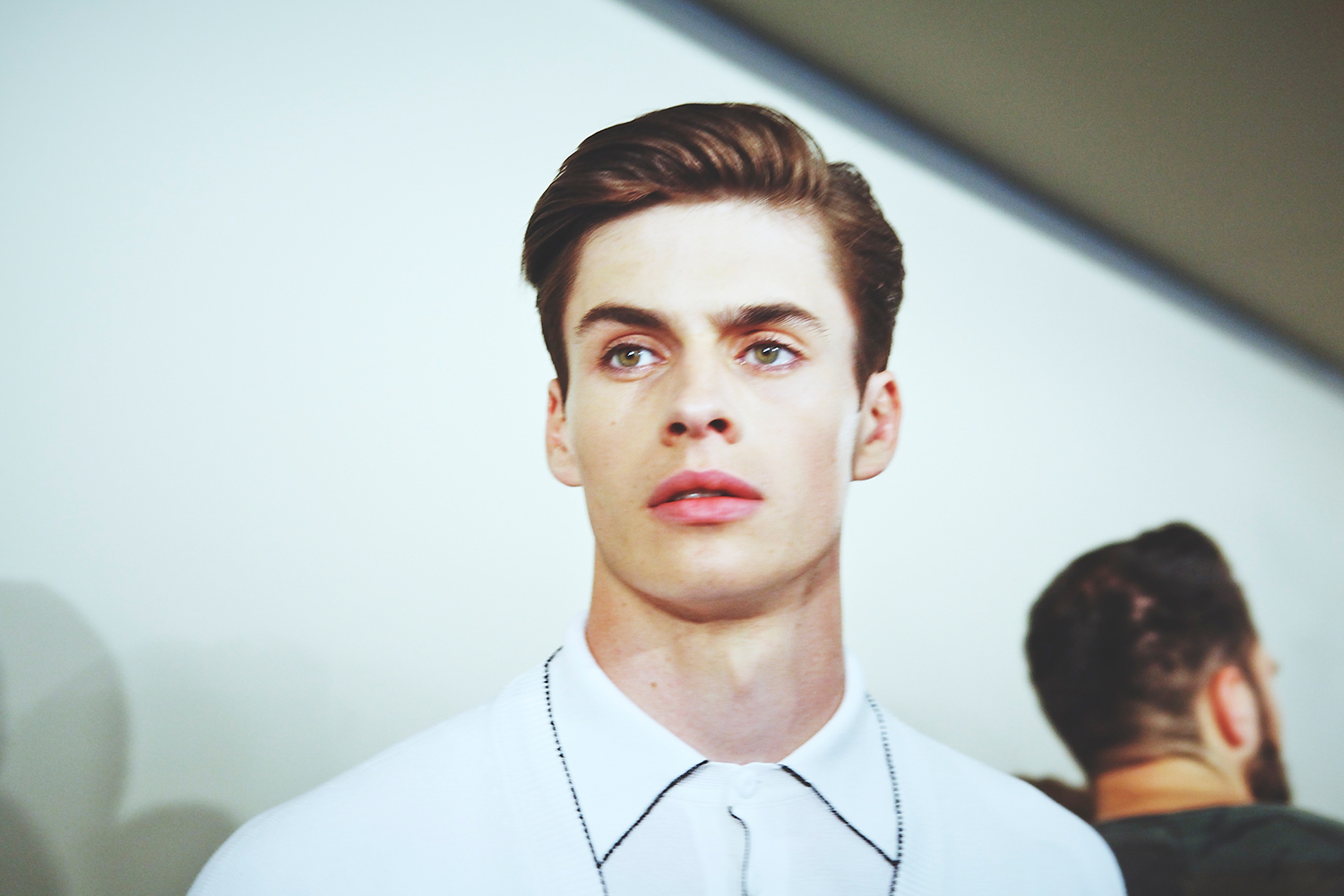 HERO HARRY CARR BACKSTAGE BOTTEGA VENETA IMG_2596