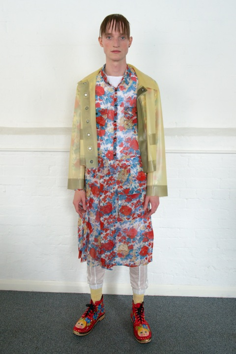 HERO MAGAZINE SS14 MEADHAM KIRCHHOFF CATWALK Look 5