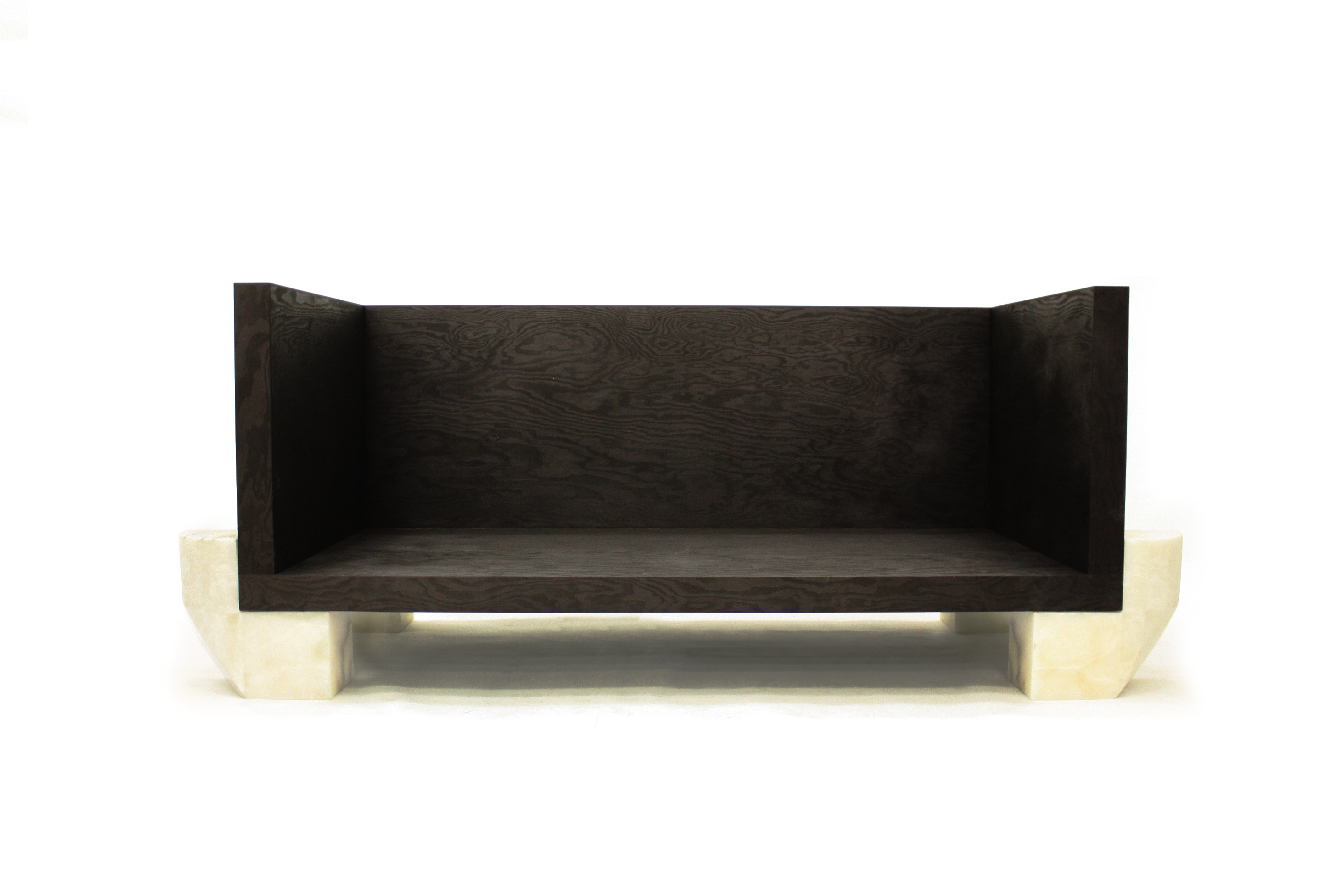 Boudeuse in Alabaster, Black Plywood. Courtesy of Carpenters Workshop Gallery