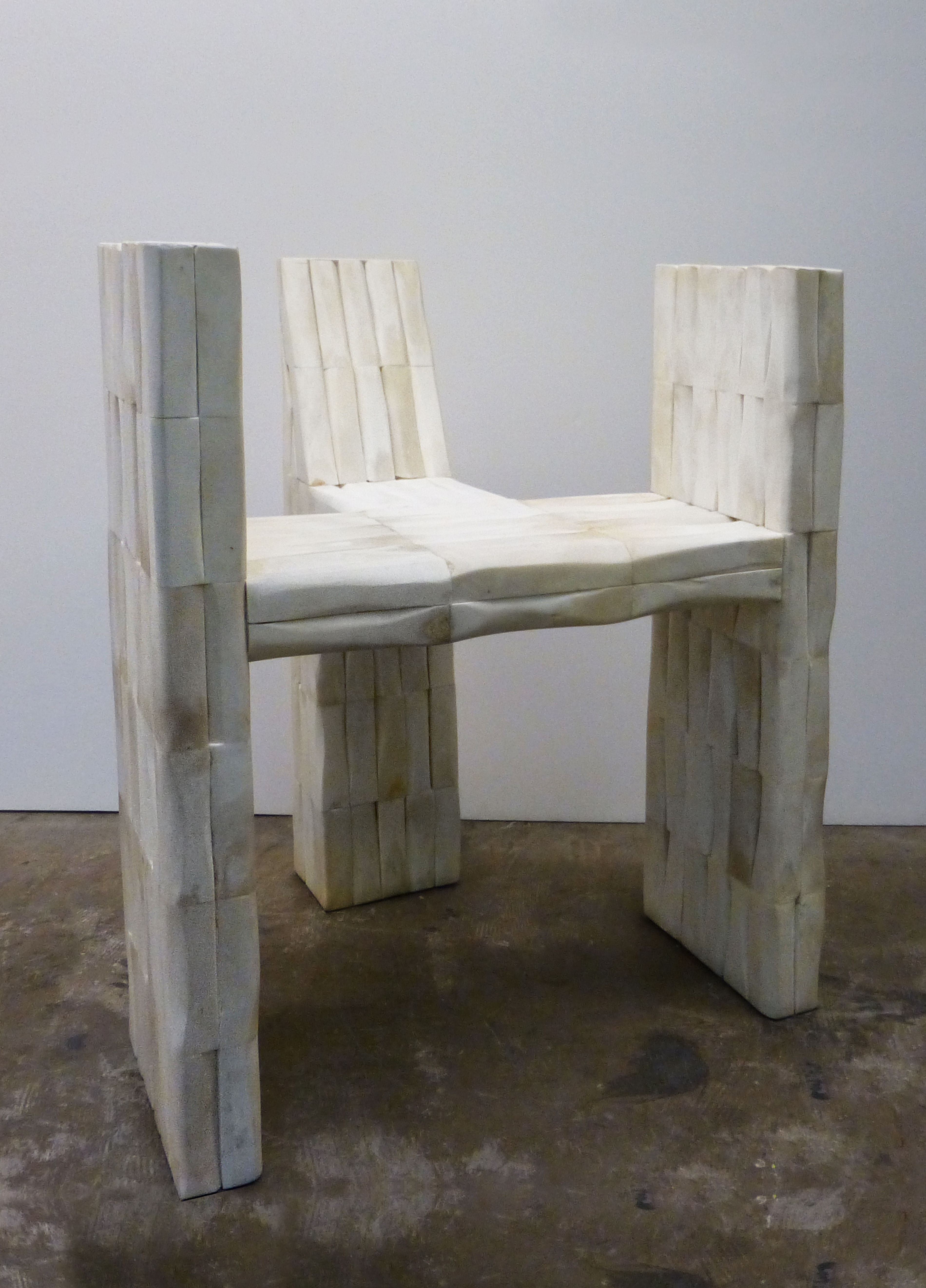 Trident Chair, Cow Bone. Courtesy of Carpenters Workshop Gallery