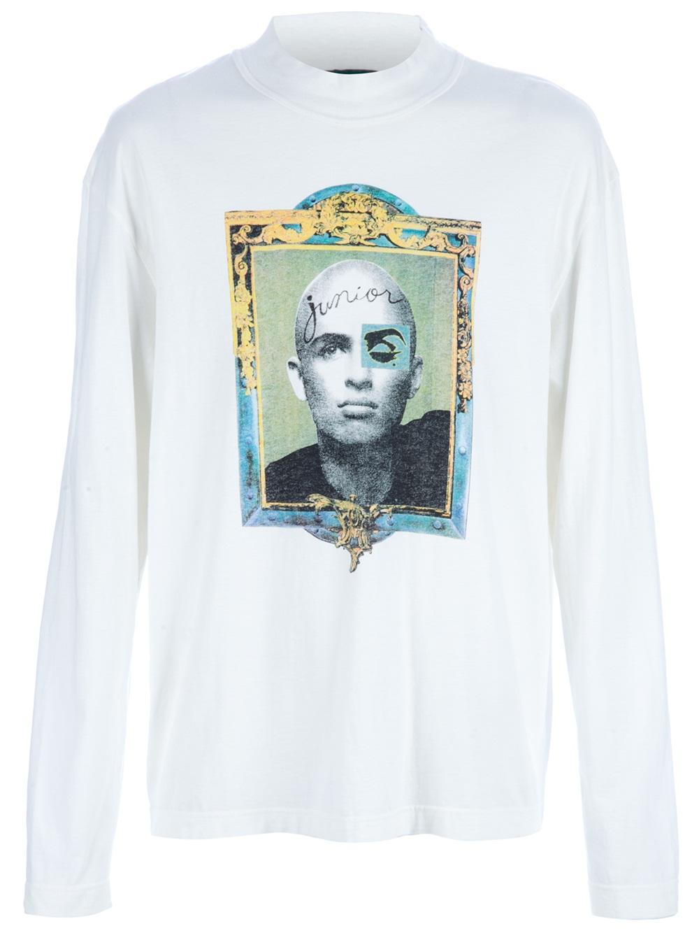 Junior Gaultier printed sweater