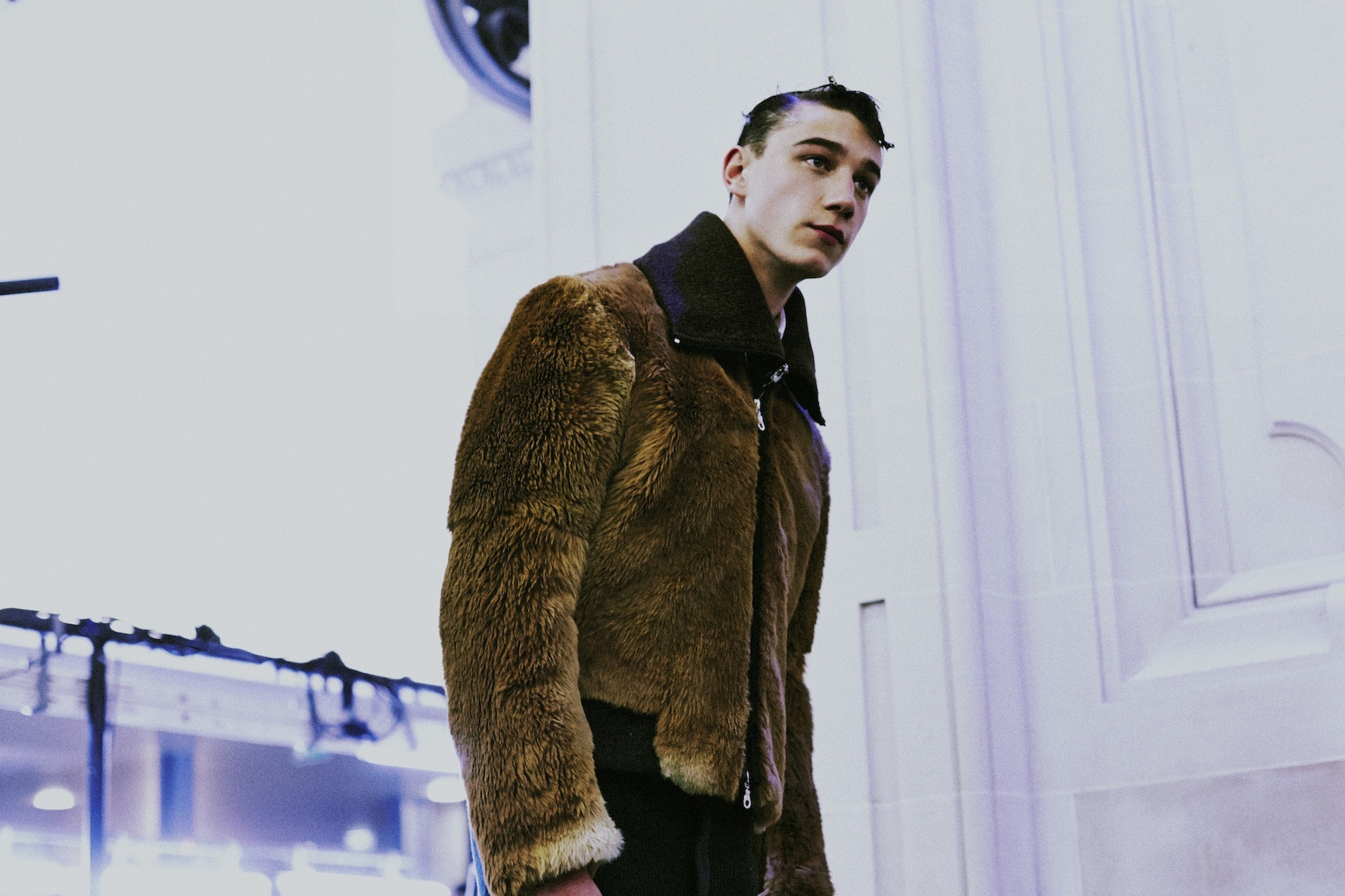 13 LCM AW14 HERO MAGAZINE KENZO BACKSTAGE Alexandre Sallé de Chou FW14 CATWAL LOOK  Harry Carr PARIS AW14 HERO MAGAZINE KENZO BACKSTAGE HARRY CARR FW14