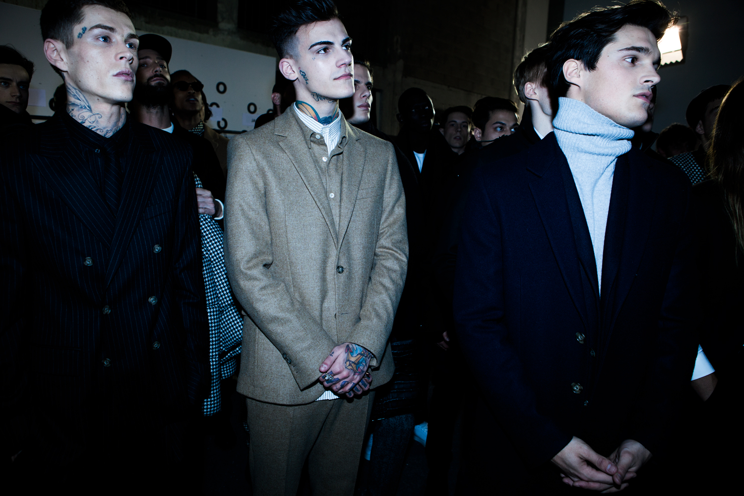21 LCM AW14 HERO MAGAZINE AMI FW14 BACKSTAGE