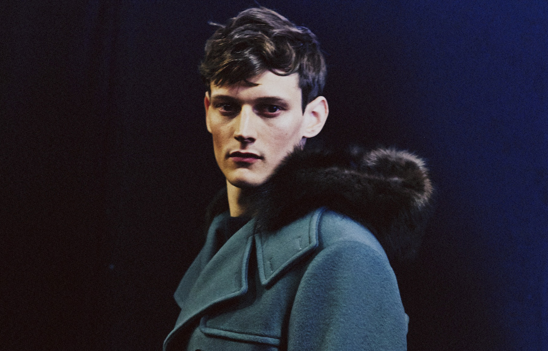 33 LCM AW14 HERO 44 MAGAZINE SALVATORE FERRAGAMO BACKSTAGE HARRY CARR FW14 Look