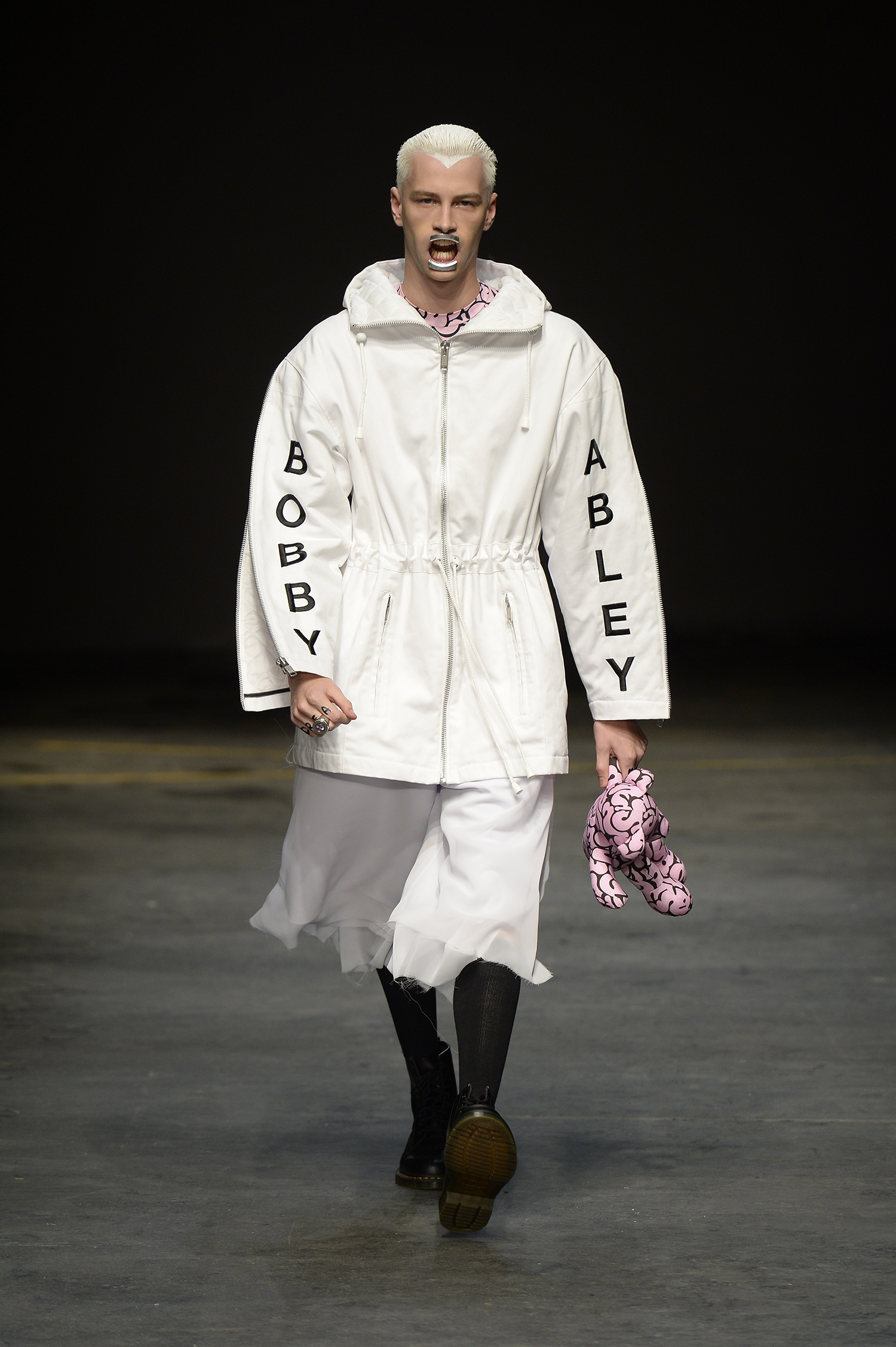 Bobby Abley AW14 at MAN Look 1, photo by Catwalking
