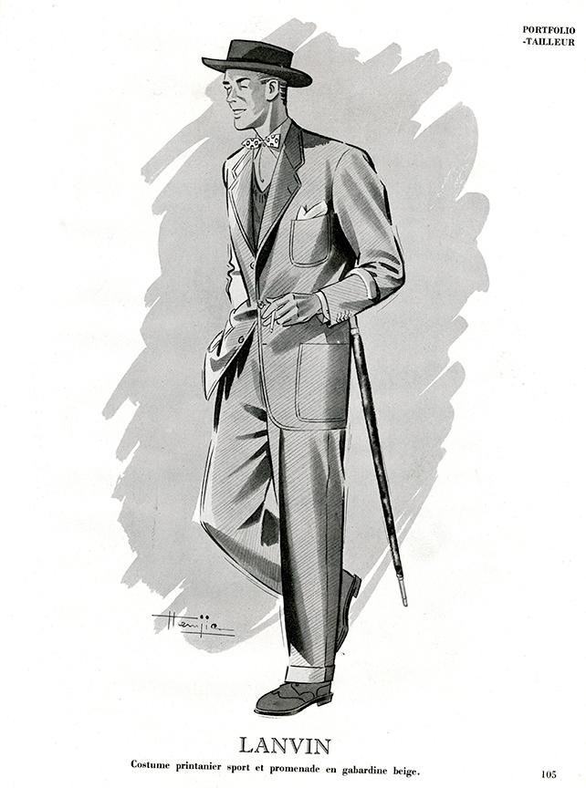LANVIN-1948-Costume