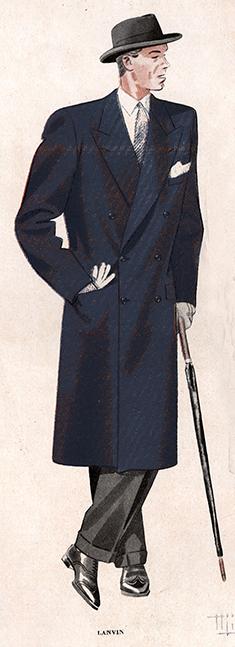 LANVIN-homme-pardessus-1946