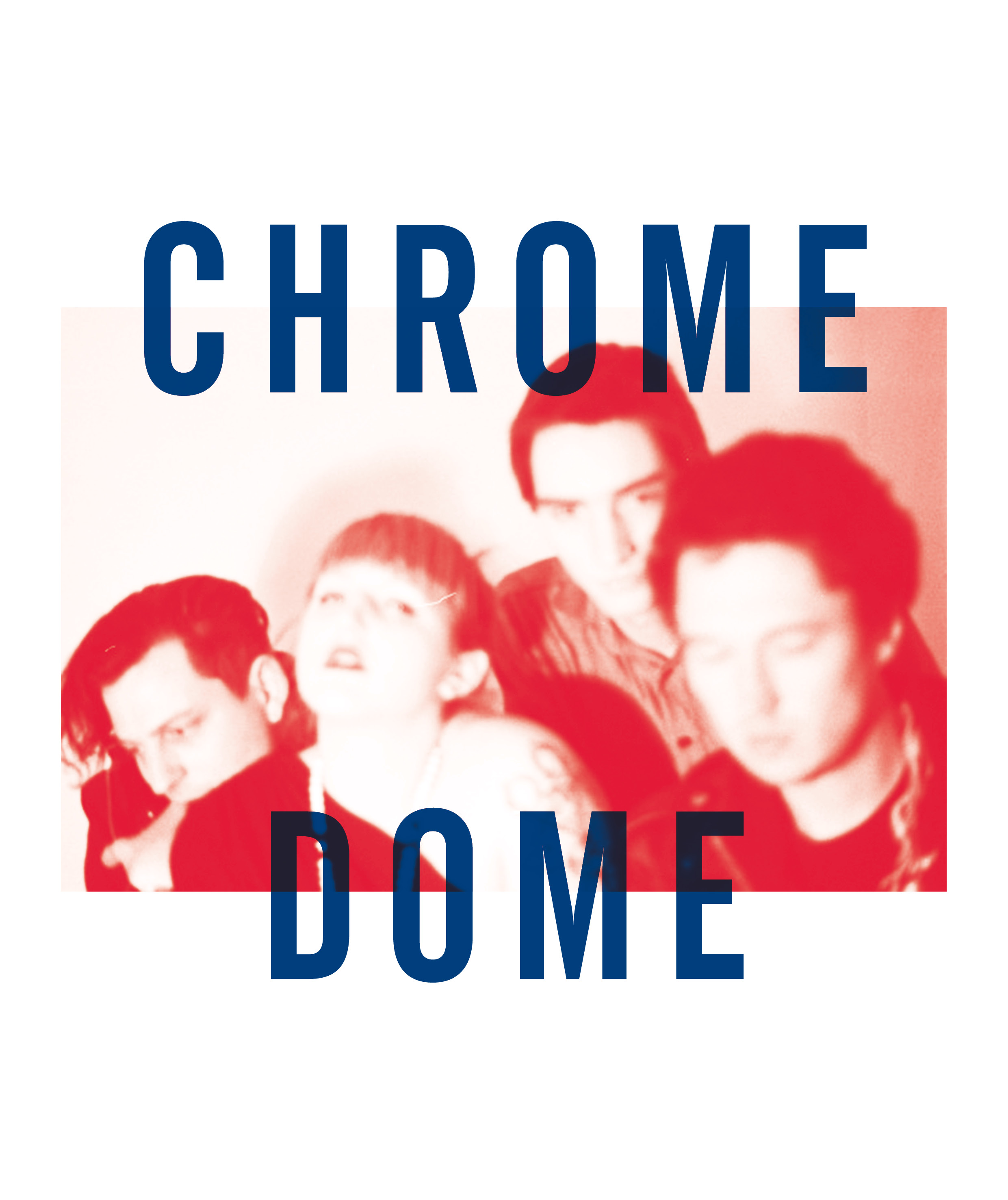 Chrome Dome, from 'Noise In My Head: Voices From The Ugly Australian Underground' 2014. Image courtesy Melbourne Books