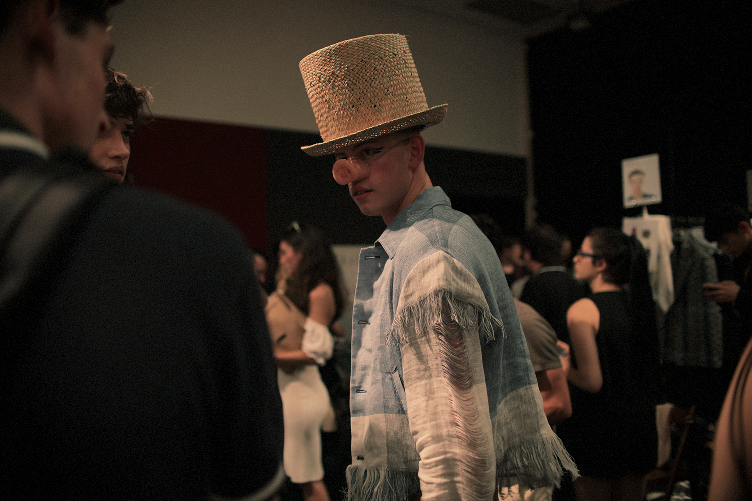 HERO MAGAZINE VIVIENNE WESTWOOD BACKSTAGE ALAN CHIES SS15 SHOW IMG_6042