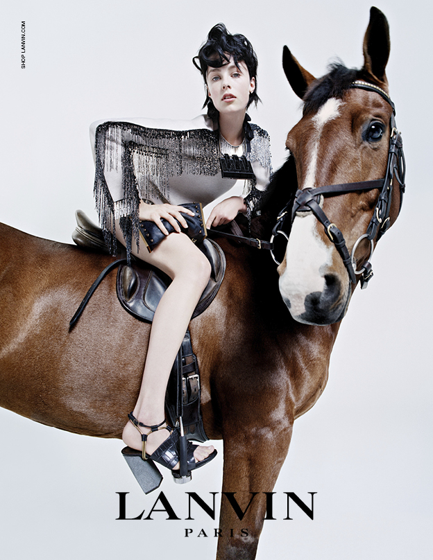 Edie Campbell in Lanvin's FW14 campaign