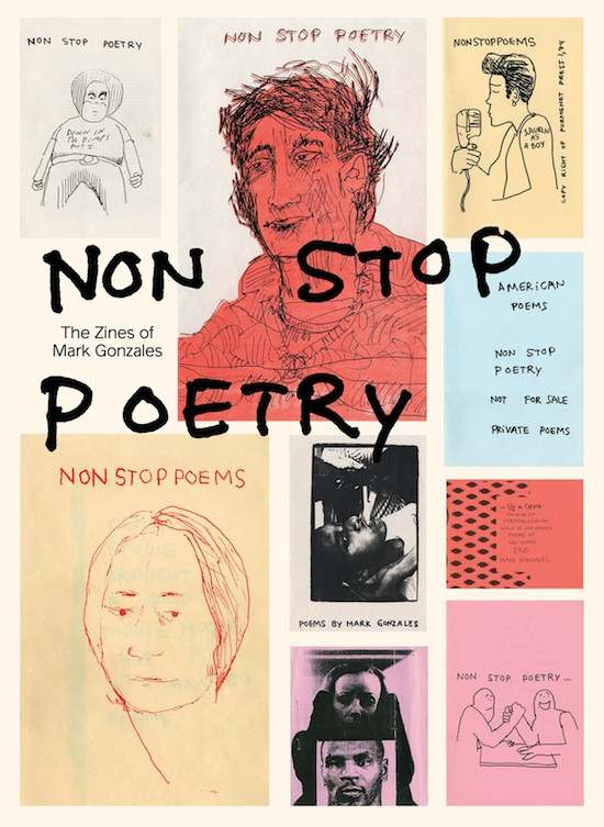 Cover, 'Non Stop Poetry: The Zines of Mark Gonzales' by Mark Gonzales. Courtesy Printed Matter