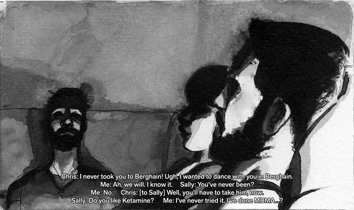 Sholem Krishtalka 'Departures – Chris', 2013. Courtesy the artist