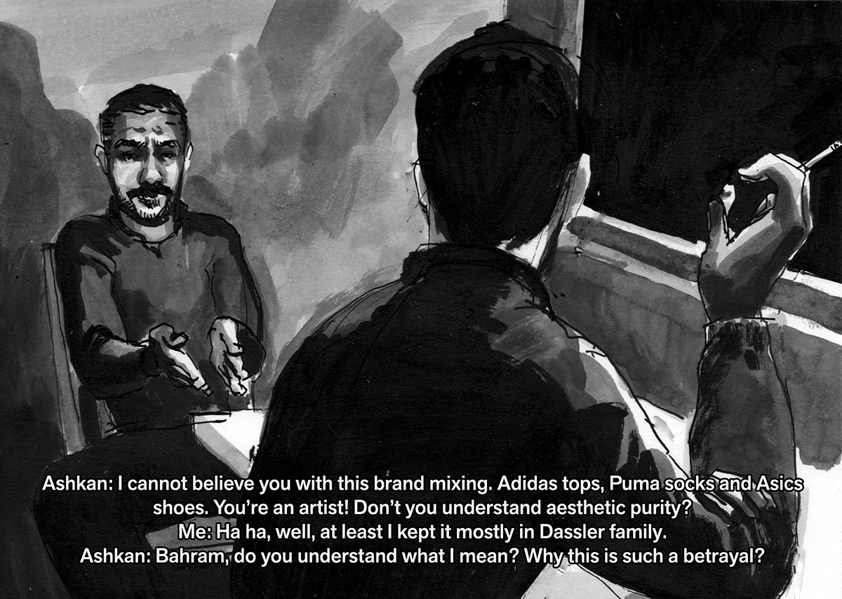 Sholem Krishtalka 'Snax 9', 2013. Courtesy the artist