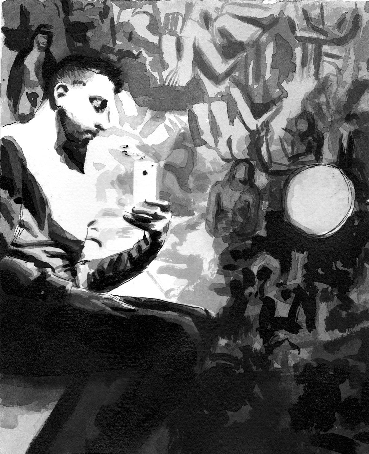 Sholem Krishtalka 'Travelogue Amsterdam', 2013. Courtesy the artist