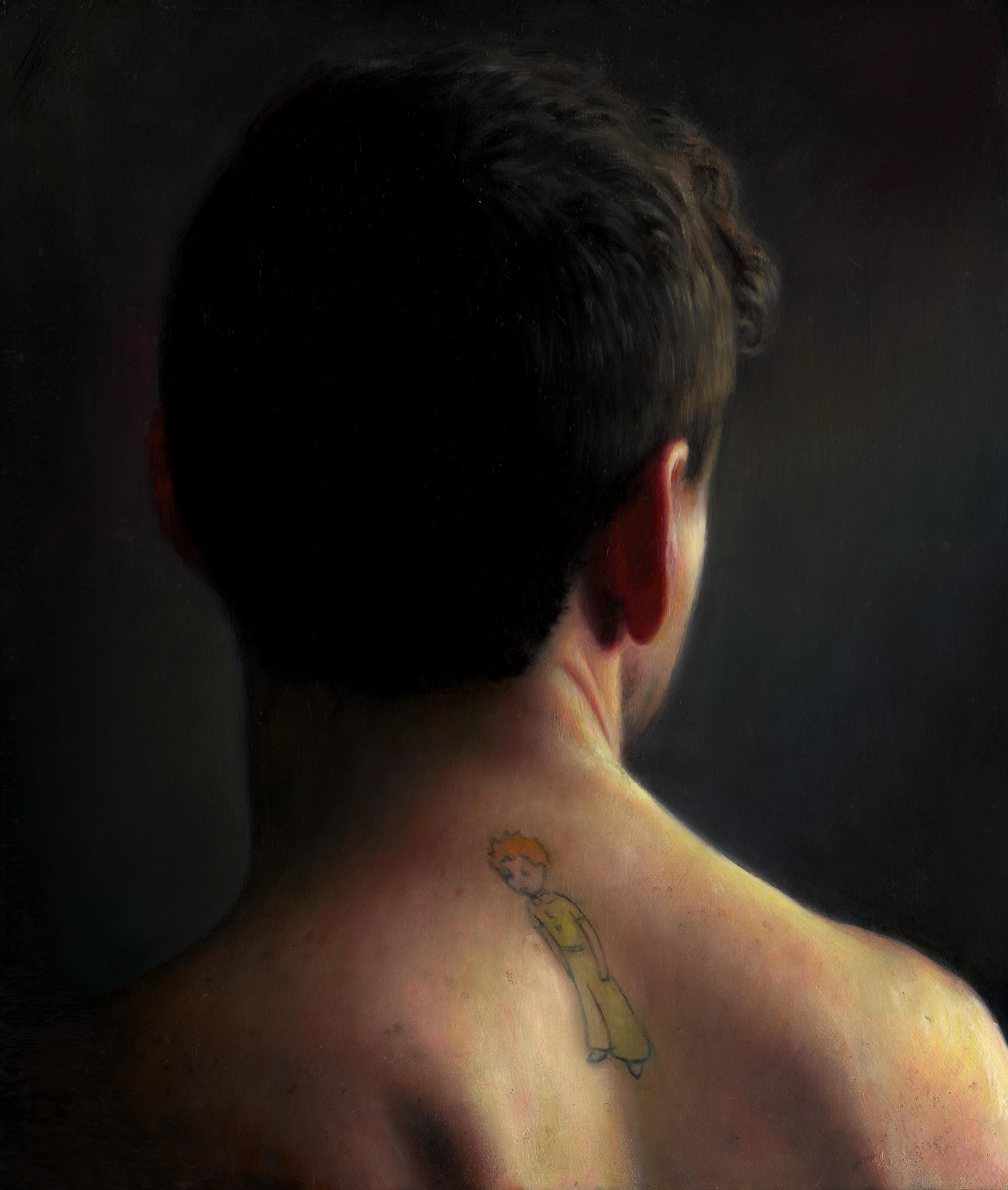 TM Davy, 'Back of Neck' Courtesy the artist